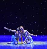 Danse folklorique Ami-Swallowling-chinoise Photographie stock libre de droits