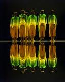 Danse folklorique chinoise de groupe Image stock