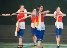 Danse folklorique : danse de faucille Image libre de droits