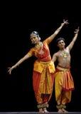 Danse folklorique indienne photo libre de droits