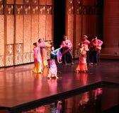 Danse folklorique malaise Images libres de droits