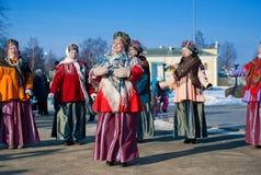 Danse folklorique mexicaine Images libres de droits
