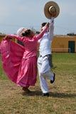 Danse folklorique péruvienne Photo stock