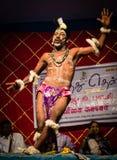 Danse folklorique tribale Photographie stock