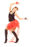Danse heureuse Photo stock