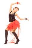 Danse heureuse Photo stock