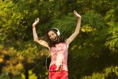 Danse heureuse Photos stock