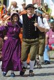 Danse historique Photos stock