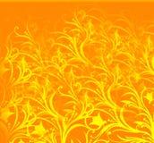Danse jaune illustration stock