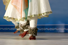 Danse-kathak indienne Photo stock