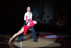 Danse latine Photo libre de droits