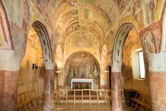 Danse Macabre fresco, Hrastovlje, Slovenia. Stock Photography