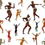 Danse magique de Shamanic illustration de vecteur