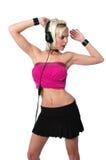 Danse magnifique de fille Photographie stock libre de droits