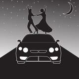 Danse moderne illustration libre de droits