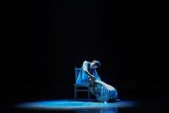 Danse moderne d'amour-Le maternel Image stock