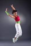 Danse moderne dans le studio Photos libres de droits