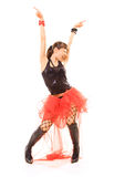 Danse émotive Photo stock
