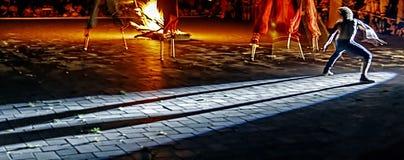 Danse mystique 6 images libres de droits
