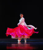 Danse nationale chinoise Photographie stock libre de droits