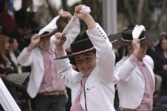 Danse nationale du Chili Photos stock