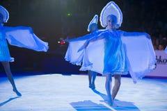 : Danse non identifiée de danseurs Image libre de droits
