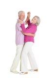 Danse pluse âgé de couples Image stock