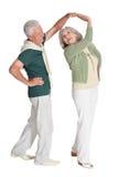 Danse pluse âgé de couples Photos stock