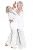 Danse pluse âgé de couples Images stock