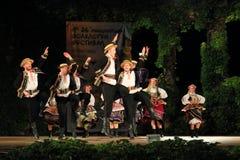 Danse polonaise traditionnelle image stock