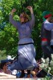 Danse portugaise de folklore image libre de droits
