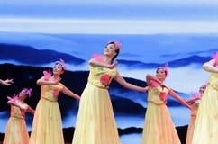 Danse - pour toujours détachement du fleuve Yangtze Images libres de droits