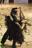 Danse : Rares Soponar et Alexandra Alice Rusznyak Photo libre de droits