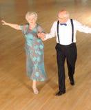Danse retirée de couples Image stock