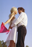 Danse romantique Photos stock
