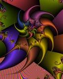 Danse spiralée Images libres de droits