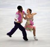 Danse sur glace Photographie stock