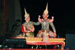 Danse thaïe photographie stock libre de droits