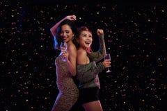 Danse toute la nuit Images libres de droits