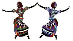 Danse traditionnelle Images libres de droits