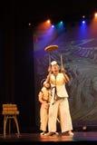 Danse traditionnelle coréenne Image libre de droits