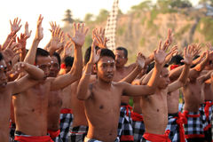 Danse traditionnelle de Balinese photo libre de droits