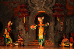 Danse traditionnelle de Balinese Photo libre de droits