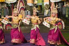 Danse traditionnelle de Balinese Photographie stock