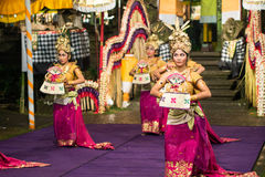 Danse traditionnelle de Balinese Images stock