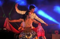 Danse traditionnelle de Javanese Image libre de droits
