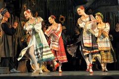Danse traditionnelle, Ukraine photo libre de droits