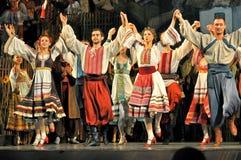Danse traditionnelle, Ukraine image stock