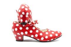 Danse typique de chaussures Photographie stock
