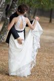 Danse Wedding. Image libre de droits
